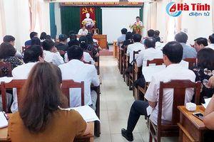 Giải thể công đoàn giáo dục cấp huyện ở Hà Tĩnh