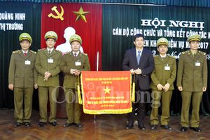 Quản lý thị trường Quảng Ninh thu nộp ngân sách vượt kế hoạch 10- 50%/năm