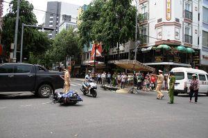 Đà Nẵng: Tai nạn liên hoàn, 1 người chết, 2 người bị thương