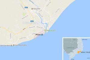 Thi thể nam giới không đầu trôi dạt vào bờ biển Bình Thuận