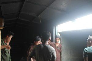 Bình Dương: Phát hiện nhiều hàng hóa nghi nhập lậu trong toa tàu