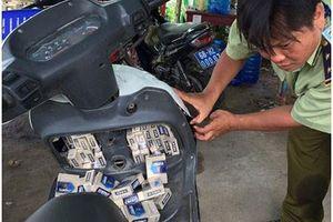 Lật tẩy chiêu cực hiểm giới buôn lậu thuốc lá dùng mùa cao điểm