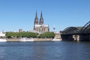 Một nét ẩm thực bên bờ sông Rhine