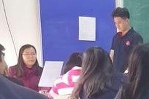 Bản kiểm điểm ly kỳ như phim hành động của cậu học trò tới lớp muộn