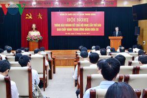 Đảng ủy Khối các cơ quan Trung ương thông báo kết quả Hội nghị T.Ư 6