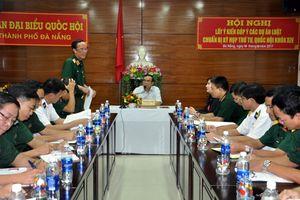Đề nghị quy định trách nhiệm thẩm định của cơ quan quân sự, công an đối với các dự án KT-VH-XH