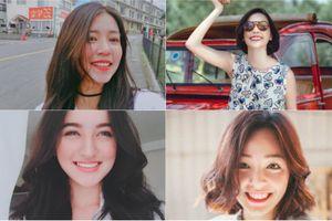Bộ tứ hot girl Việt có 'nụ cười như mùa thu tỏa nắng'
