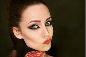 Cô gái có 100.000 fan nhờ tài make up kinh dị, cosplay giống y bản gốc