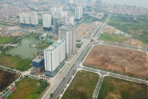 Dự án khu đô thị Ngoại giao đoàn: Đã thông xe ra đường Võ Chí Công