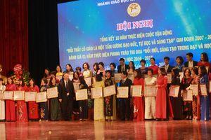 Hà Nội: Vinh danh 100 nhà giáo sáng tạo