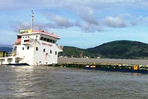 Cảng Quy Nhơn 'tê liệt' sau bão số 12