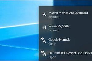 Chặn mạng Wi-Fi không mong muốn trong danh sách Windows