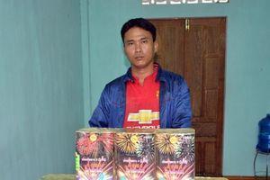 Quảng Ninh: Bắt giữ đối tượng vận chuyển trái phép 16kg pháo nổ