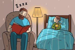 Bộ tranh cảm động nói về cách yêu con có một không hai của các ông bố