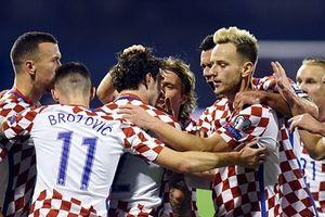 Croatia đặt 1 chân đến Nga dự World Cup sau màn vùi dập Hy Lạp