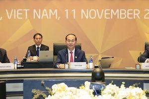 Thông điệp mạnh mẽ của Chủ tịch nước Trần Đại Quang tại Hội nghị cấp cao APEC
