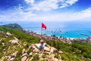 Công trình thanh niên tiêu biểu toàn quốc: Cột cờ thanh niên ở đảo Cù Lao Xanh