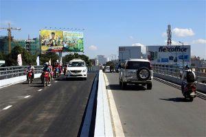 Thêm một cây cầu 'giải cứu' giao thông sân bay Tân Sơn Nhất