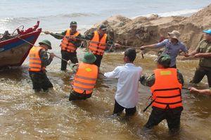 Dự báo bão số 14 vào trực diện vào Ninh Thuận
