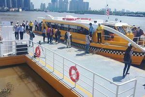 Buýt sông Sài Gòn chính thức hoạt động từ 25/11