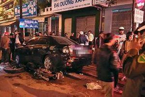 Đà Nẵng: Truy tìm ôtô 7 chỗ bỏ chạy sau tai nạn liên hoàn trong đêm