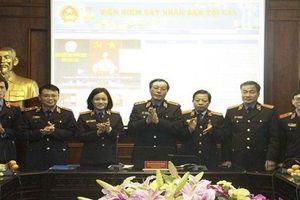 Lễ công bố và ra mắt giao diện mới Trang thông tin điện tử VKSNDTC