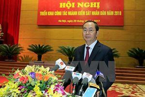 Chủ tịch nước dự Hội nghị triển khai công tác ngành Kiểm sát nhân dân