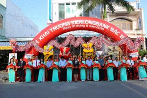 Kienlongbank khai trương mới 2 phòng giao dịch