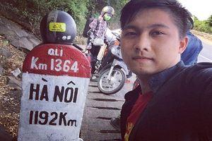 Chàng trai Vĩnh Phúc phượt xuyên Việt chỉ với 4 triệu đồng