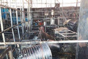 Cháy lớn ở công ty sâm Ngọc Linh lúc rạng sáng