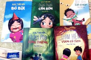 Nhà văn Phạm Việt Long nhận giải thưởng sách Quốc gia lần thứ nhất cho bộ Bi Bi và Mặt Đen