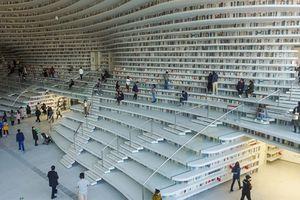 Tham quan Tianjin Binhai - thư viện đẹp nhất thế giới tại Trung Quốc