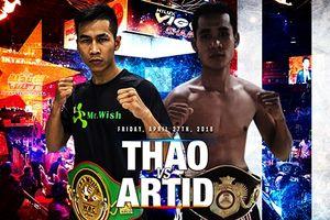 Chủ đai WBC Văn Thảo sẽ thượng đài với nhà vô địch Thái Lan