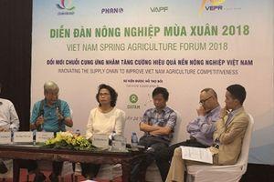Ứng dụng công nghệ đổi mới chuỗi cung ứng nông nghiệp