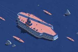 Nỗ lực chế tạo tàu sân bay băng của Anh
