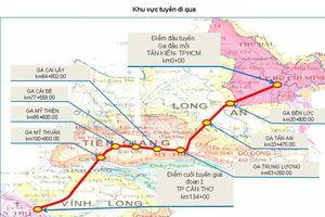 Có đường sắt tỉ USD, từ TP.HCM đến Cần Thơ chỉ mất 45 phút