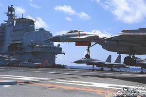 Lộ diện vũ khí bí mật trên tàu sân bay Trung Quốc