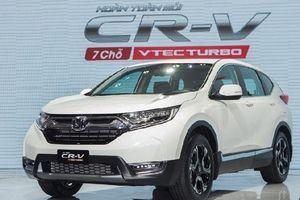 Số lượng ô tô Honda CR-V và City bán ra tăng mạnh