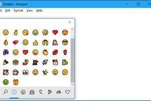 Cách mở trình chọn biểu tượng cảm xúc mới của Windows 10
