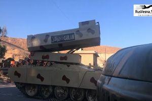 Hụt hẫng sức mạnh siêu pháo phản lực 500mm của Syria