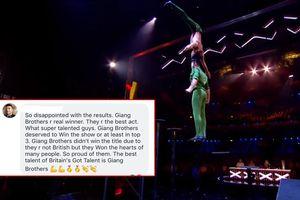 'Quốc Cơ - Quốc Nghiệp không vào Top 3 là sai lầm của Britain's Got Talent'