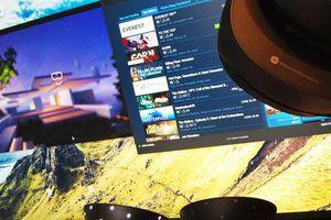 Chơi game thực tế ảo trên Steam