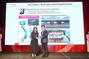 Bridgestone Việt Nam-nhà cung cấp chất lượng của năm từ Toyota