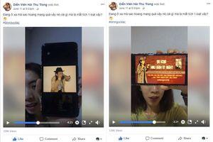 Thu Trang, Đức Phúc tham gia trào lưu 'tìm người lạc'