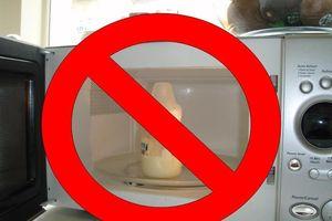 6 điều tuyệt đối tránh khi pha sữa công thức