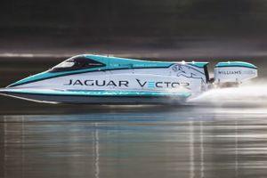 Jaguar phá kỉ lục Thế giới về tốc độ tàu thủy điện