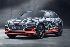 Audi E-Tron giải pháp SUV điện siêu thông minh