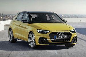 Xe sang giá rẻ Audi A1 2019 lộ diện trước thềm ra mắt