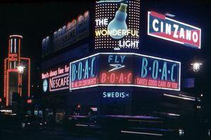 Ảnh hiếm có khó tìm về thành phố London thập niên 1950