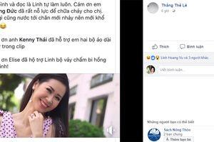 Vừa đăng quang, Hoa hậu Dương Thùy Linh xin lỗi vì vi phạm bản quyền